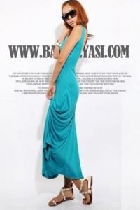 '.Платье небесного цвета .'