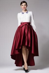 '.Объемная юбка с асимметричным подолом .'