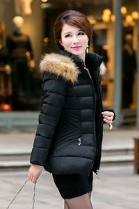 '.Стеганая женская куртка .'