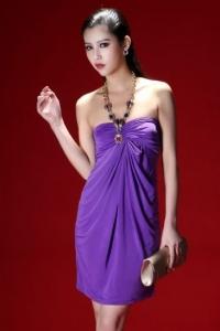 '.Платье фиолетовое .'