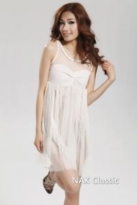 '.Абрикосовое платье .'