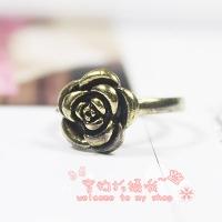 '.Кольцо «Бронзовая роза» .'