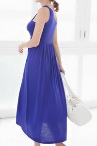'.Платье синее .'