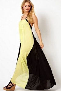'.Длинное платье .'