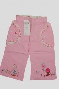 '.Брючки для девочки розовые с рисунком (6 лет) .'