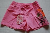 '.Розовые шорты с аппликацией р-р. L .'