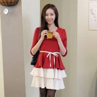 '.Платье красное .'