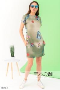 '.Платье с принтом .'