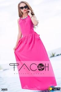 '.Платье Цветные бусины .'