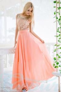 '.Блестящее вечернее платье .'