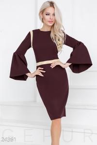 '.Эффектное женское платье .'