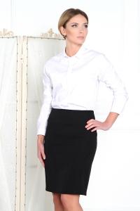 '.Черная классическая юбка .'